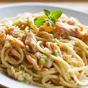 spaghetti-salmone